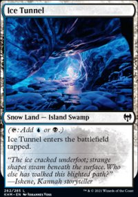 Ice Tunnel -