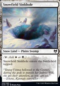 Snowfield Sinkhole -