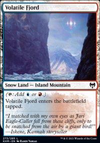 Volatile Fjord -
