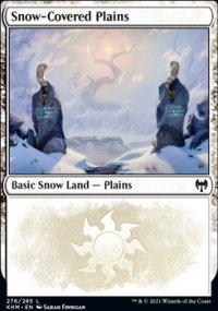Snow-Covered Plains 1 - Kaldheim