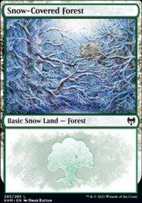 Snow-Covered Forest 2 - Kaldheim