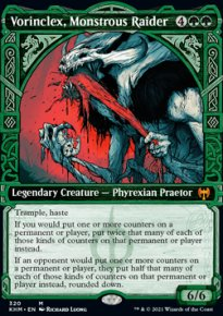 Vorinclex, Monstrous Raider 2 - Kaldheim