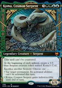 Koma, Cosmos Serpent -