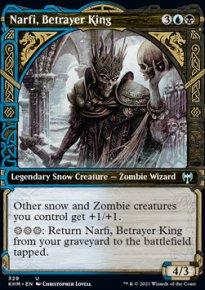 Narfi, Betrayer King -