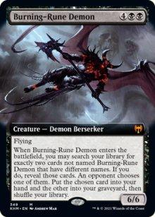 Burning-Rune Demon -