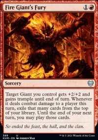 Fire Giant's Fury -
