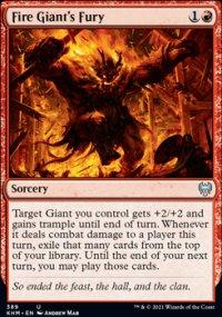 Fire Giant's Fury - Kaldheim