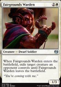 Fairgrounds Warden - Kaladesh