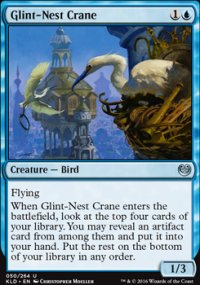 Glint-Nest Crane - Kaladesh