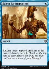 Select for Inspection - Kaladesh
