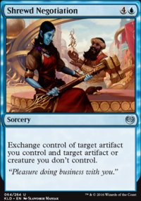 Shrewd Negotiation - Kaladesh