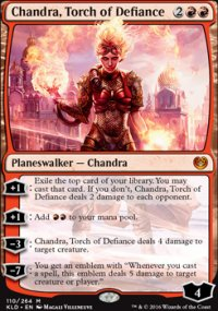 Chandra, Torch of Defiance - Kaladesh