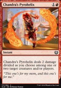 Chandra's Pyrohelix - Kaladesh