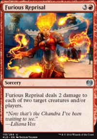 Furious Reprisal - Kaladesh