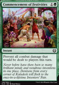 Commencement of Festivities - Kaladesh