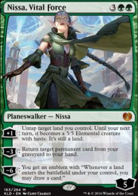Nissa, Vital Force - Kaladesh