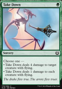Take Down - Kaladesh