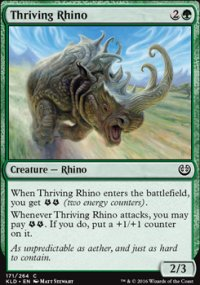 Thriving Rhino - Kaladesh
