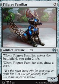 Filigree Familiar - Kaladesh