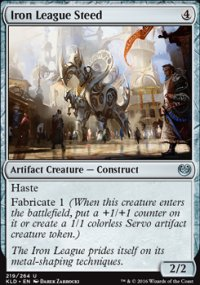 Iron League Steed - Kaladesh