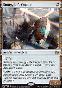 Smuggler's Copter - Kaladesh
