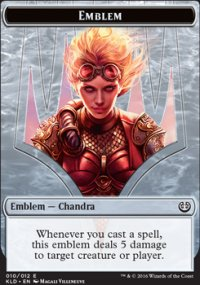 Emblem Chandra, Torch of Defiance - Kaladesh