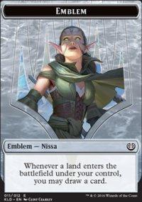 Emblem Nissa, Vital Force - Kaladesh