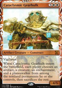 Cataclysmic Gearhulk - Kaladesh Inventions