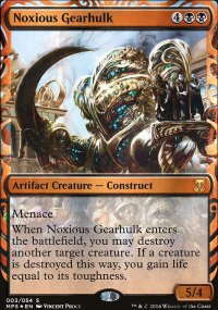 Noxious Gearhulk - Kaladesh Inventions