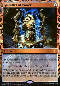 Gauntlet of Power - Kaladesh Inventions