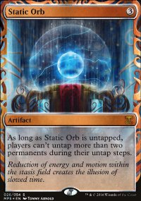 Static Orb - Kaladesh Inventions