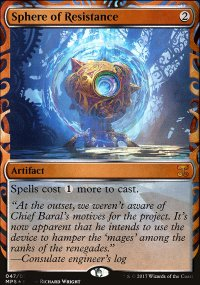 Sphere of Resistance - Kaladesh Inventions