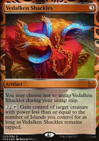 Vedalken Shackles - Kaladesh Inventions
