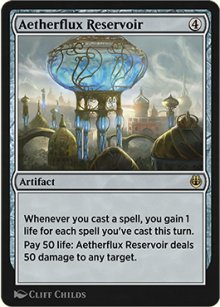 Aetherflux Reservoir - Kaladesh Remastered