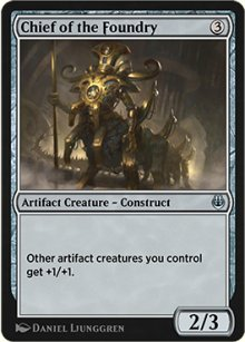 Chief of the Foundry - Kaladesh Remastered