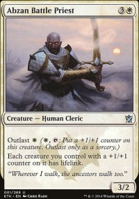 Abzan Battle Priest - Khans of Tarkir