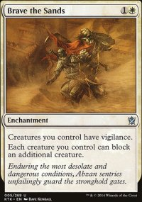 Brave the Sands - Khans of Tarkir