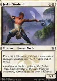 Jeskai Student - Khans of Tarkir
