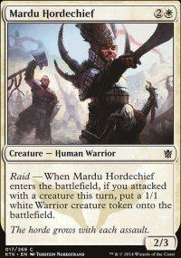 Mardu Hordechief - Khans of Tarkir