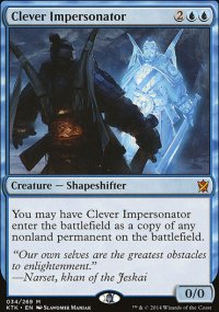 Clever Impersonator - Khans of Tarkir