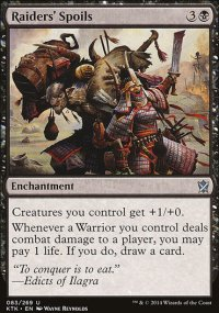 Raiders' Spoils - Khans of Tarkir