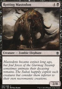 Rotting Mastodon - Khans of Tarkir