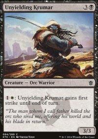 Unyielding Krumar - Khans of Tarkir