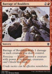 Barrage of Boulders - Khans of Tarkir