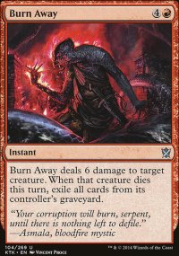 Burn Away - Khans of Tarkir