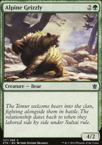Alpine Grizzly - Khans of Tarkir