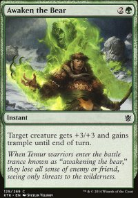 Awaken the Bear - Khans of Tarkir