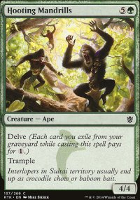 Hooting Mandrills - Khans of Tarkir