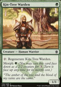 Kin-Tree Warden - Khans of Tarkir