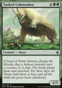 Tusked Colossodon - Khans of Tarkir
